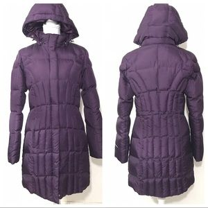 Eddie Bauer Goose Down Coat with Hood